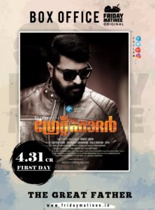 the great father first day record gross fridaymatinee
